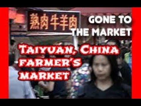 Street farmer's market in Taiyuan, China | Went to the market  | Sanqiao farmer's market