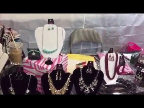 Easy 10 X 10 Set Up For Paparazzi Accessories Youtube