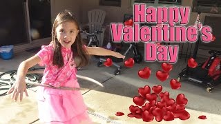 Happy Valentine's Day!!! Hula Hooping & Box Decorating with Jillian
