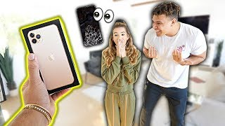 Breaking Girlfriend's Phone, Then Surprising Her With iPhone 11