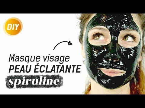 Masque à la spiruline