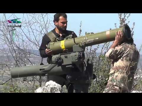 صواريخ تاو الأمريكية بيد الحر هل تكون مؤشراً على انفراج قريب؟! on YouTube