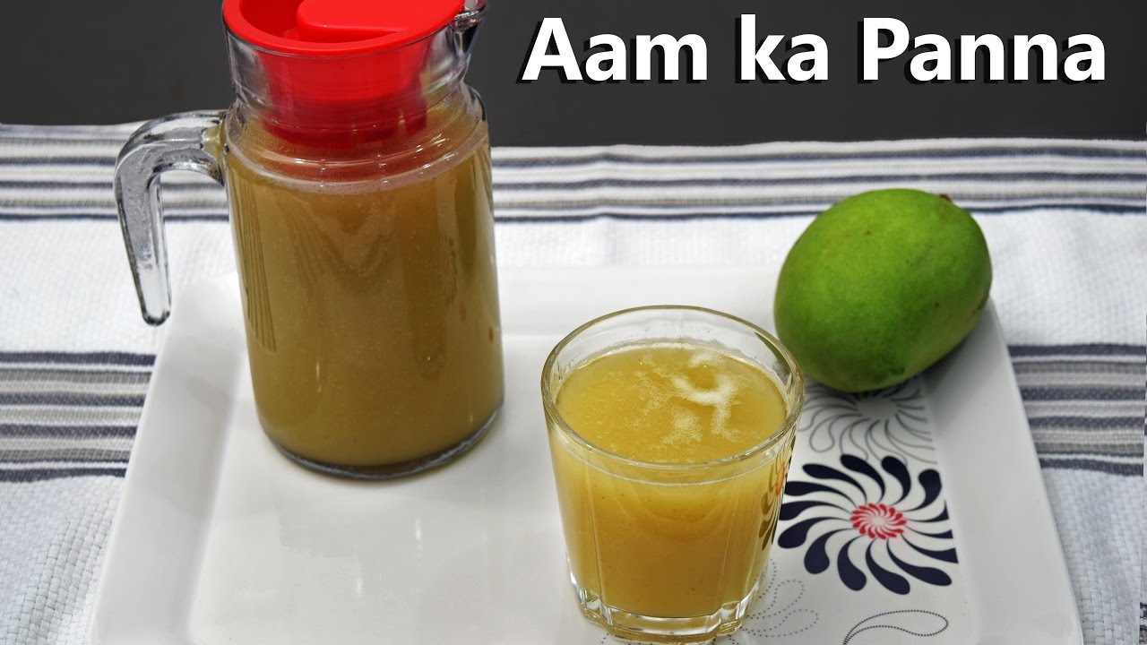 Aam Panna : How to make Aam Panna Drink - YouTube