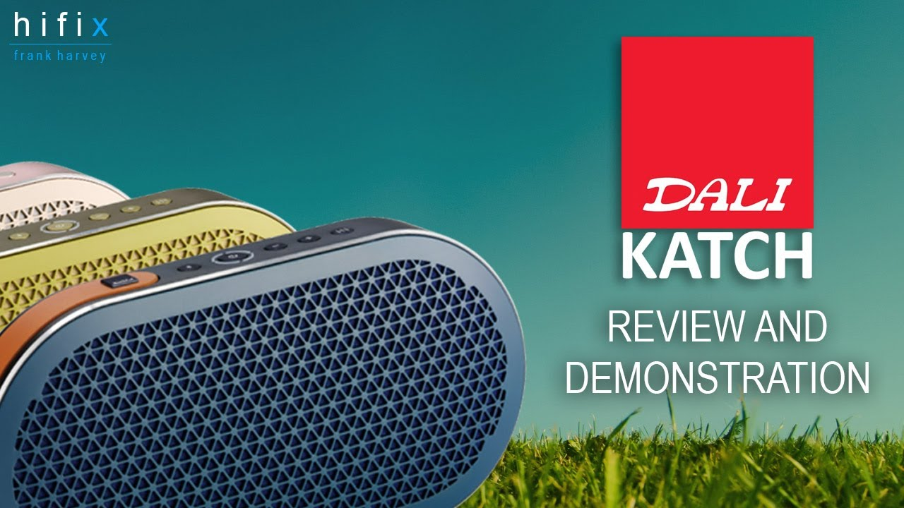 Dali Katch Portable Bluetooth Speaker Review and Demonstration - YouTube 4909f939ed4d2