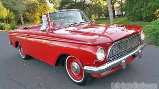Very Original 1962 Rambler American Convertible