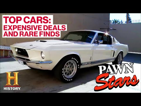 Pawn Stars: TOP 5 CLASSIC CARS (Rare Finds & Big $$$ Deals)   History