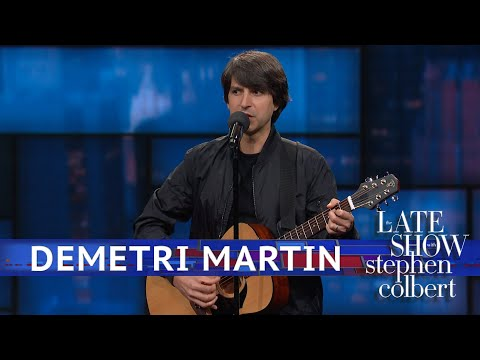 Demetri Martin Performs Stand-Up
