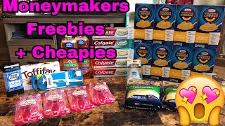 Moneymakers, Freebies, & Cheapies extreme couponing haul!😁