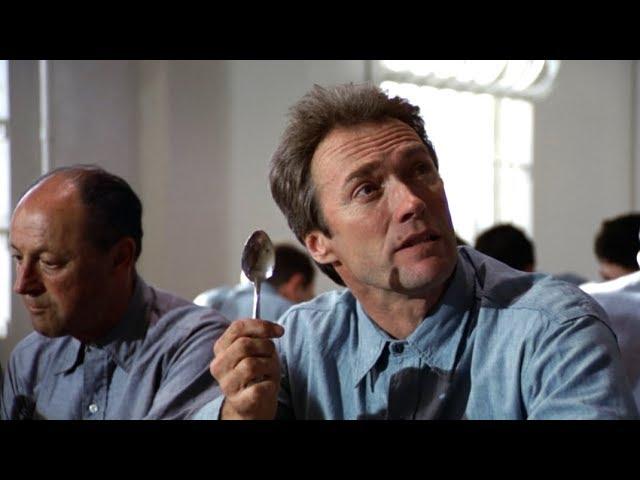 高智商男子用一把勺子,成功逃出了,号称无人能逃离的恶魔监狱
