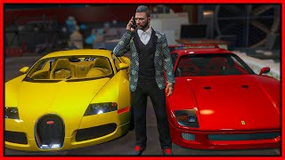GTA 5 Roleplay - buying & selling expensive luxury cars | RedlineRP