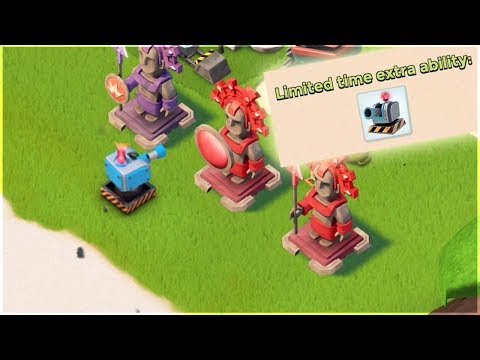 NEW Boom Beach Gunboat Ability!! Welcoming the Deployable Turret!