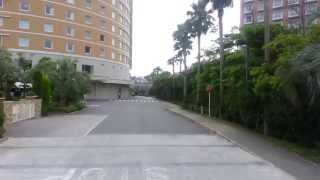 Hilton Tokyo Bay Hotel的路上