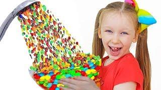 Лиза и волшебный душ из конфет