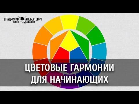 Цветовые гармонии для