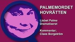 Palmemordet Hovrätten Lisbet Palme