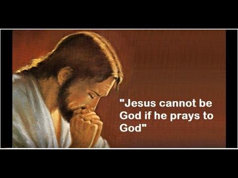 Did Jesus pray to himself? (Matthew 26:39)
