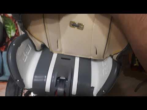 Как собрать детское авто кресло Happy Baby ( после стирки )