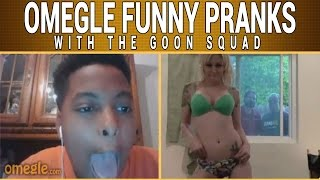 SEXY GIRL STRIPTEASE PRANK ON OMEGLE - HILARIOUS REACTIONS!