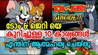 Top 10 Funny facts about Tom and Jerry | ടോം ആന്‍ഡ...