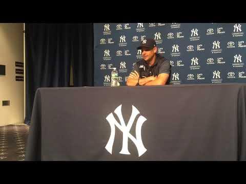 Yankees' Aaron Boone explains Aaron Judge's return