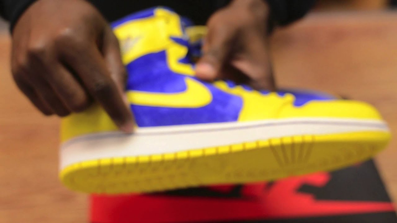 ae1ca611be81cf Nike Air Jordan 1 Laney Unboxing and On Feet Review - YouTube