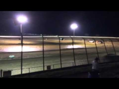 Clay county speedway 9/6/2014 heat 2