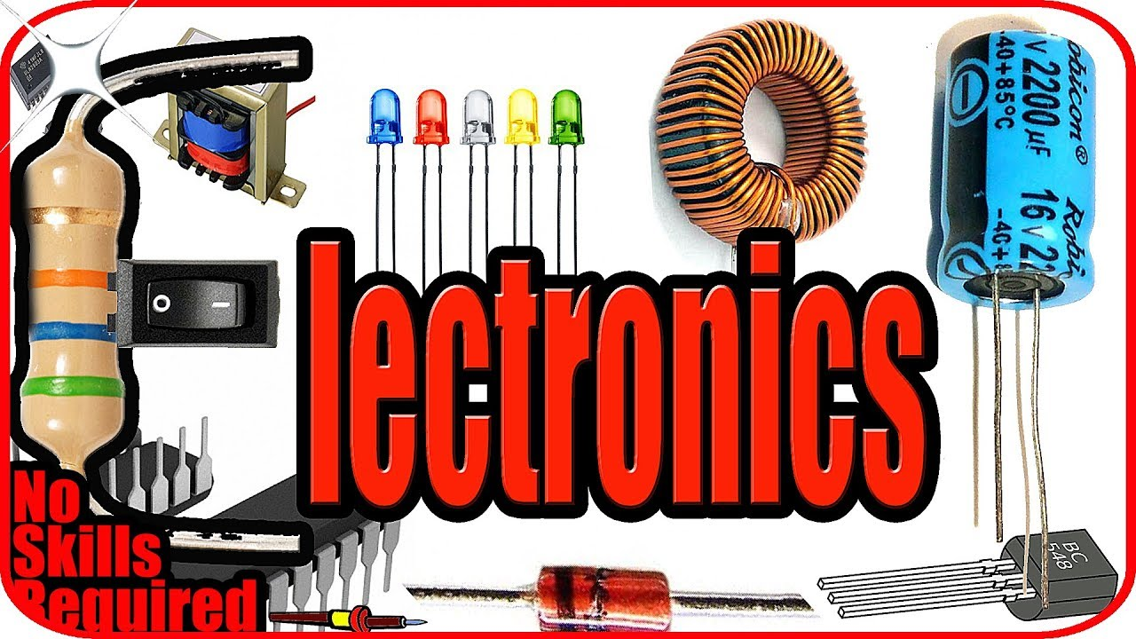 Electronics For Beginners Basic Electronics Components And Symbols Youtube