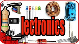 Electronics for beginners - Basic electronics components and symbols