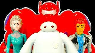 Big Hero 6 Baymax Dark Side Knock Off Toys 2 Disney Frozen Frosted