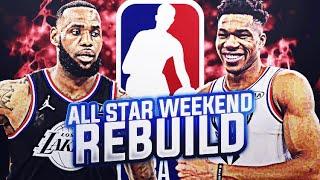 ALL STAR WEEKEND REBUILDING CHALLENGE! NBA 2K19