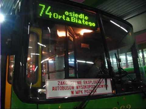 Ostatni Ikarus W Poznaniu - Koniec Ery Wysokopodłogowych Autobusów !