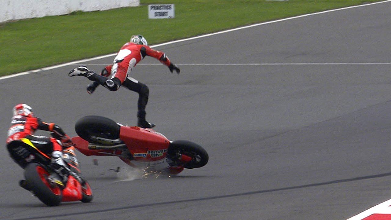 MotoGP™ Silverstone 2014 – Biggest crashes - YouTube