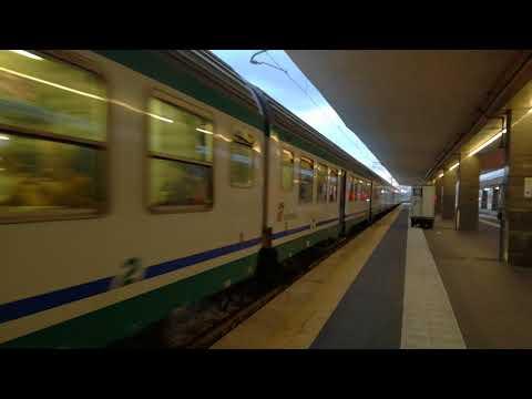 Treno REG 2394 Napoli Centrale - Roma Termini in partenza