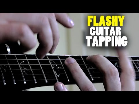 Flashy Guitar Tapping Technique