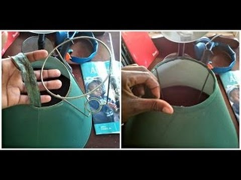 how to fix a lamp shade using patex contact adhesive - How To Fix A Lamp