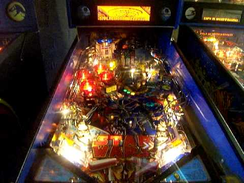 Star Wars Pinball Machine >> Star Wars Arcade Pinball Machine Youtube