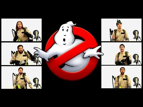 GHOSTBUSTERS THEME SONG ACAPELLA! ft Chad Neidt