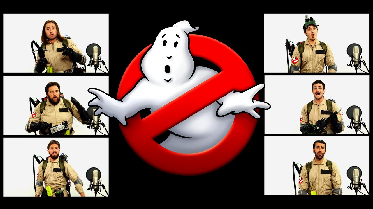 GHOSTBUSTERS THEME SONG ACAPELLA ft Chad Neidt  YouTube