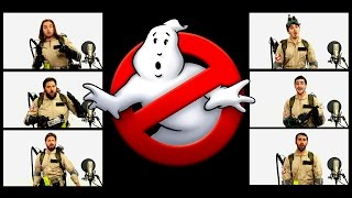 ghostbusters theme song acapella ft chad neidt