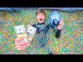 SCUBA DIVING IN ORBEEZ SWIMMING POOL!! (WIN $10,000)
