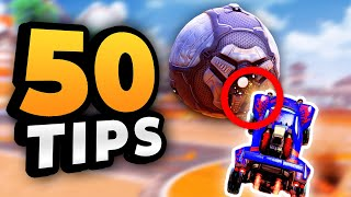 50 Rocket League Tips ALL Players Need To Learn (BEGINNER to PRO)