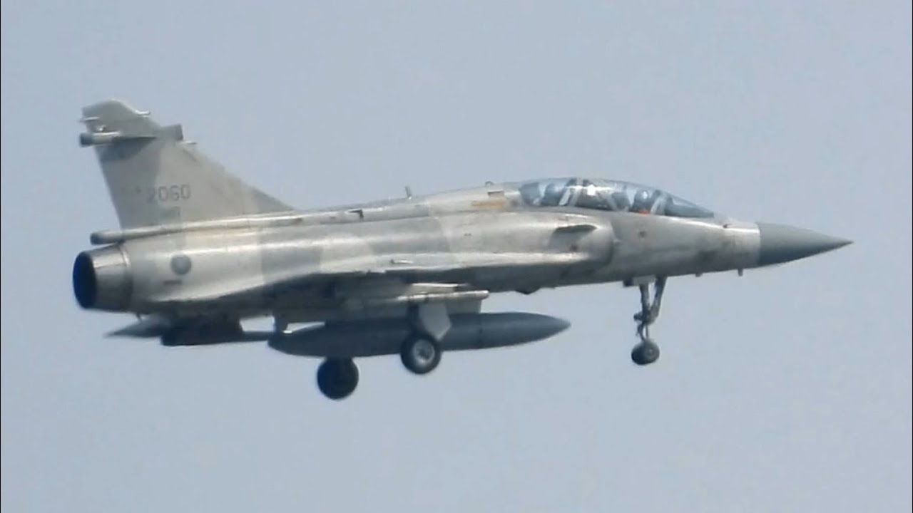 新血輪 ! 幻象2000換裝飛訓 #2060翱翔天際 ft.601旅OH-58D戰搜歐(O)機 Mirage 2000-5 rookie training flight, ROC Air Force