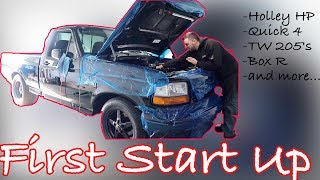 Ford Lightning First Start - Standalone, Custom Exhaust, and More!