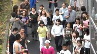 24時間テレビマラソン(イモトアヤコさん)246号線町田市鶴間の銀河陸橋...