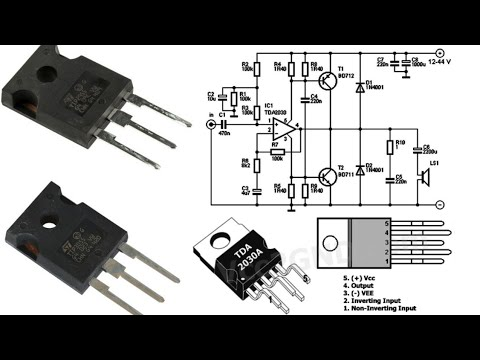 subwoofer amplifier circuit diagram  YouTube