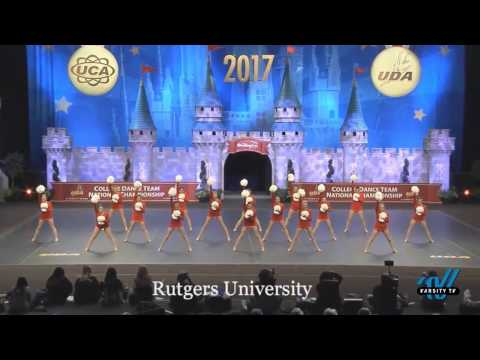 Rutgers University Dance Team - D1A Pom Finals 2017