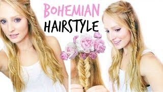 Bohemian Summer Hairstyle ❀ | BeautybyBlaire Thumbnail