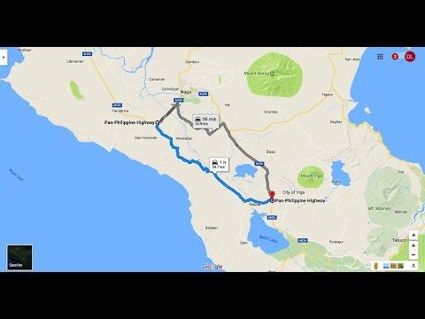 Full Video (90fps) Bicol Naga-Pili-Baao-Nabua-Polangui Bypass Road