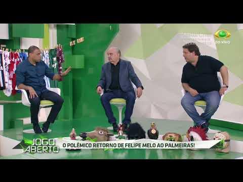Ulisses Costa: Felipe Melo Não Vai Jogar No Verdão