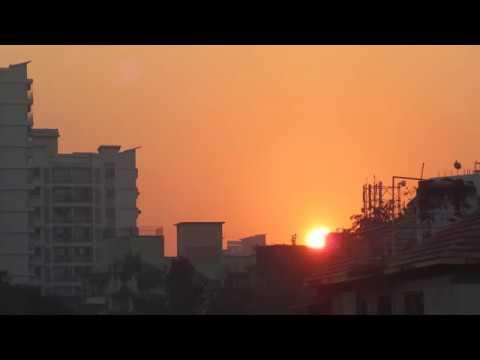 First Sunrise of 2017 - Mumbai, India (Timelapse)